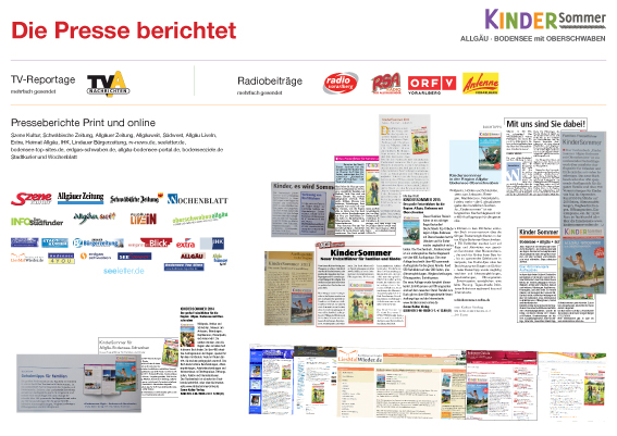 KinderSommer in der Presse